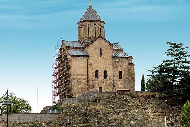 Metekhi Cathedral